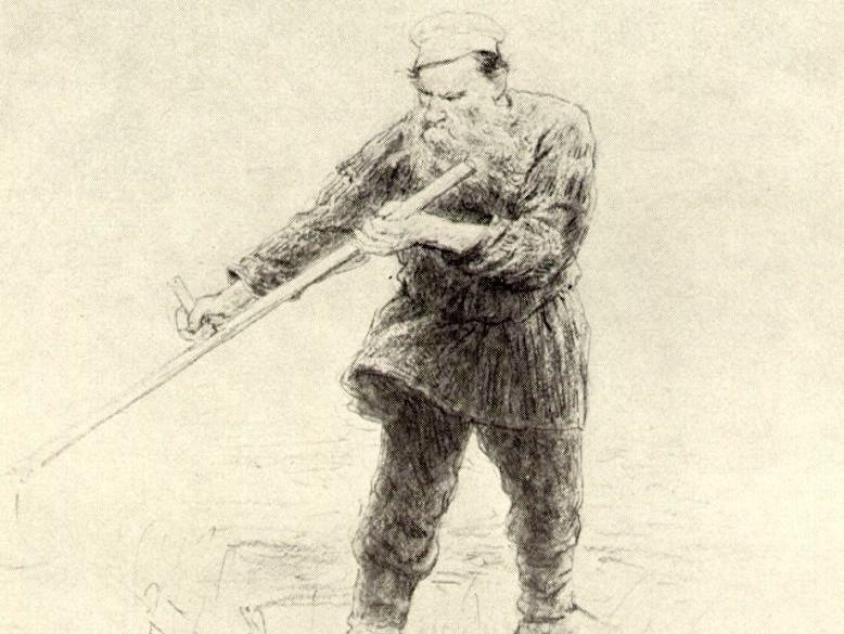 Любимое упражнение графа Толстого